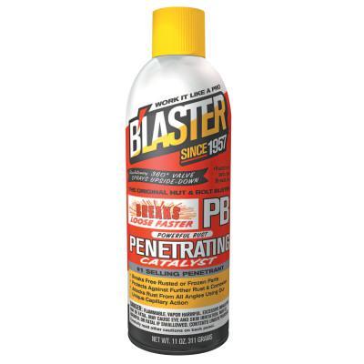 BLASTER PB Penetrating Catalysts, Liquid Lubricant/Rust Inhibitor, Pail, 5 gal, Orange