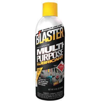 BLASTER Multi-Purpose Lubricants, 8 oz, Aerosol Can