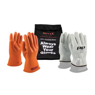 PIP NOVAX Class 0 Electrical Safety Kits, 11 in, Rubber, Orange