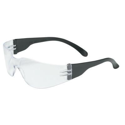 PIP Zenon Z12 Series Safety Glasses, Clear Lens, Polycarbonate, HC, Black Frame, PVC