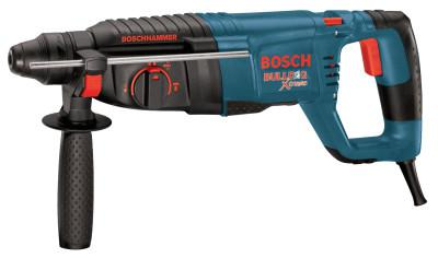 BOSCH POWER TOOLS Bulldog SDS-plus Rotary Hammers, 1 in Drive, D-Handle; Side Handle