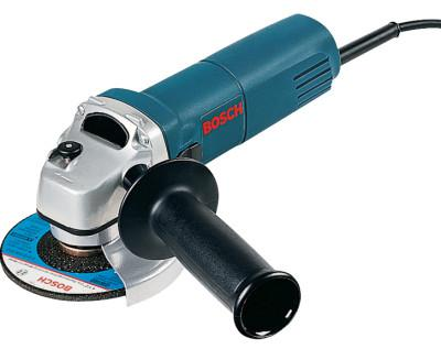 BOSCH POWER TOOLS Small Angle Grinder, 4-1/2 in Dia, 6 A, 11,000 RPM, Lock-On/Off Switch