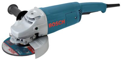 BOSCH POWER TOOLS Large Angle Grinders, 7 in Dia, 15 A, 6,500 rpm, Lock-On/Off Switch