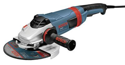 BOSCH POWER TOOLS Large Angle Grinders, 7 in Dia, 15 A, 8,500 rpm, Tri-Control Lock On/Off Switch