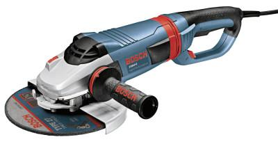 BOSCH POWER TOOLS Large Angle Grinders, 9 in Dia, 15 A, 6,500 rpm, Tri-Control Lock On/Off Switch