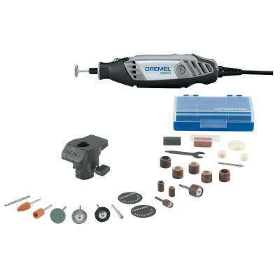 DREMEL 3000 Series Rotary Tools, Variable Speed, 32000 RPM, 24 Accessories; Case