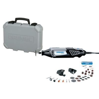 DREMEL 4000 Series Rotary Tools, Variable, 35,000 rpm, Case; 30 Accessories; Planer