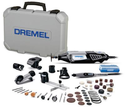 DREMEL 4000 Series Rotary Tools, Variable Speed, 35,000 rpm, 50 Assorted Accessories