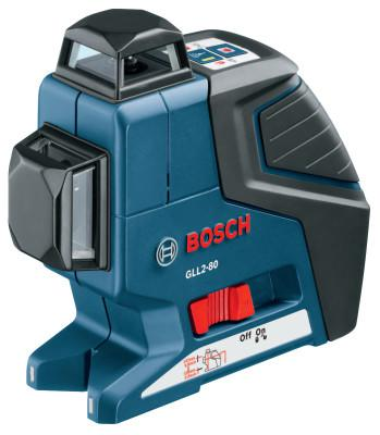 BOSCH POWER TOOLS Dual Plane Leveling and Alignment Lasers, 100 ft Range
