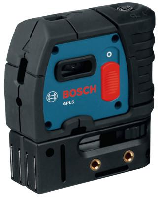BOSCH POWER TOOLS 5-Point Self-Leveling Alignment Lasers, 100 ft Range
