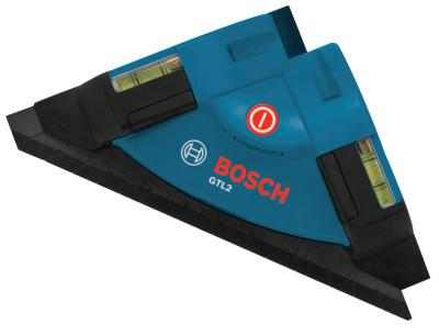 BOSCH POWER TOOLS Laser Level Squares, 30 ft Range