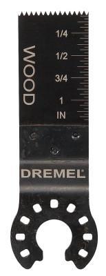 DREMEL 20 MM HIGH CARBON STEEL WOOD FLUSH CUT BLADE