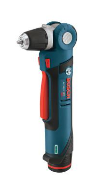 BOSCH POWER TOOLS Right Angle Cordless Drill Driver Kits, 3/8 in Chuck, 115 in lb Torque