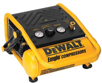 DEWALT HEAVY DUTY 1 GALLON 135PSI MAX TRIM COMPRESSOR