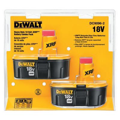 DEWALT XRP Rechargeable Battery Packs, 18 V
