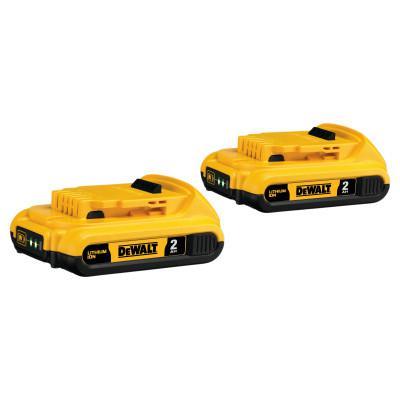 DEWALT Battery Packs, 2 A-h, 20 V