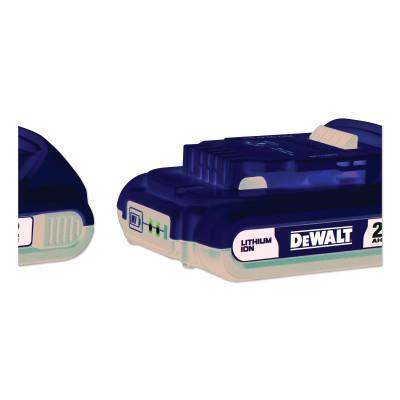 DEWALT 20-Volt MAX Lithium-Ion Compact Battery Pack 2.0Ah 2PK