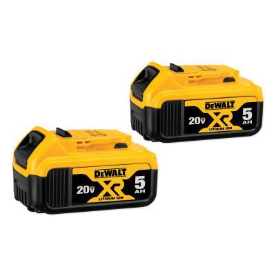 Battery Packs, 20 V, 5 Ah
