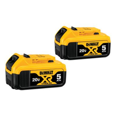 DEWALT Battery Packs, 20 V, 5 Ah