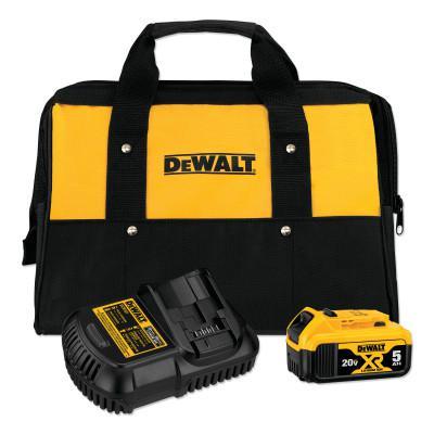 DEWALT Battery and Charger Kit For Li-Ion 20V