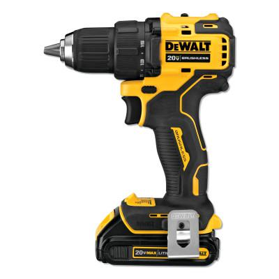 DEWALT Atomic Compact Series 20V MAX* Brushless Drill/Driver Kit, 1/2 in, 1.5 Ah