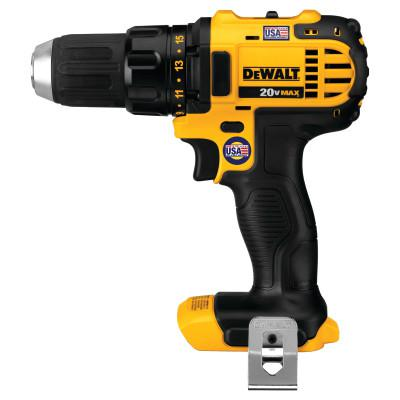 DEWALT Compact Drill Drivers, 1/2 in, Ratcheting, 2,000 rpm