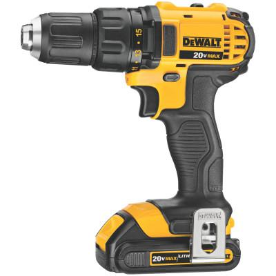 DEWALT Cordless Compact Drill/Drivers, 1/3 in Chuck, 6 RPM, Electronic Variable/Reverse