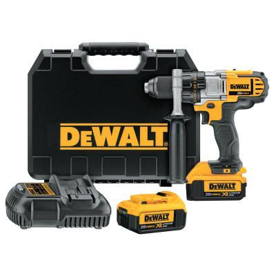 DEWALT 20V MAX* Lithium-Ion Premium 3-Speed Cordless Drill/Driver Kit, 1/2 in Chuck, 2000 RPM