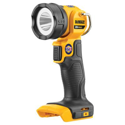 DEWALT 20V MAX* LED Cordless Work Light, Tool Only, 110 Lumens