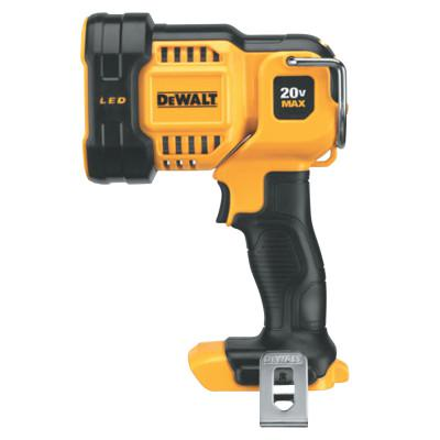 DEWALT 20V MAX Jobsite LED Spotlight, Black/Yellow