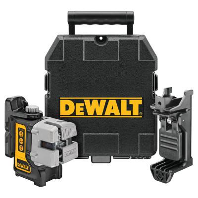 DEWALT Three Beam Line Lasers, 165 ft Range