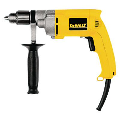 DEWALT 1/2 in Heavy-Duty VSR, Keyed Chuck, 850 rpm