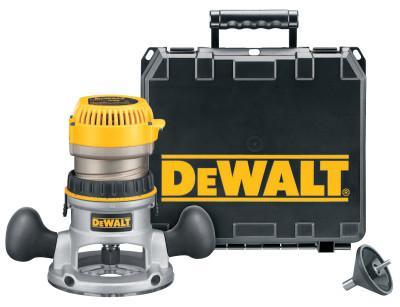 DEWALT Fixed Base Router Kit