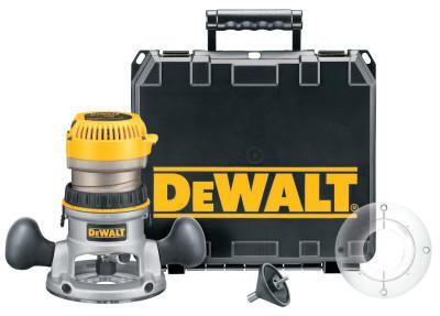 DEWALT EVS Fixed Base Router w/Soft Start Kit