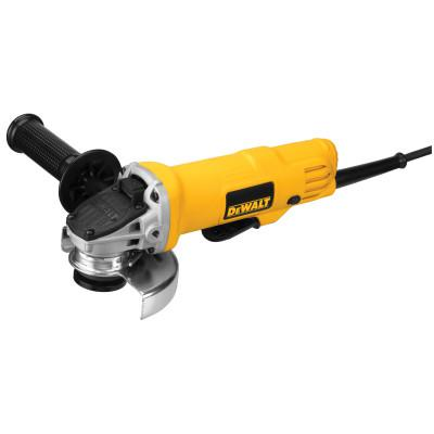 DEWALT 4 1/2 in Paddle Switch Small Angle Grinder, 7.5 A, 12000 RPM