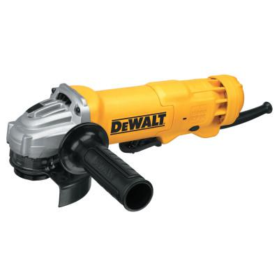 DEWALT Small Angle Grinder, 4-1/2 in Dia, 11 A, 11,000 RPM, Paddle Switch w/Lock-Off