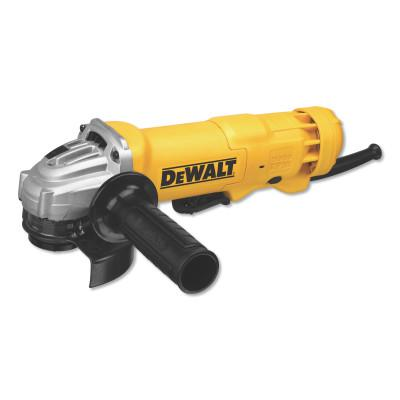 DEWALT Small Angle Grinders, 4-1/2 in Dia., 11 A, 11000 RPM,  Paddle Switch