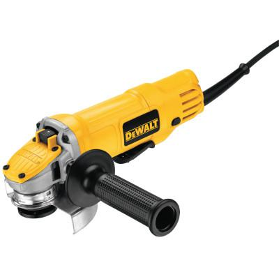 DEWALT Small Angle Grinders, 4 1/2 in Dia, 9A, 12,000 rpm, Lock-On; Paddle Switch