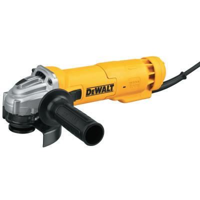 DEWALT Small Angle Grinders, 4 1/2 in Dia., 11A, 11,000 rpm,  Paddle Switch