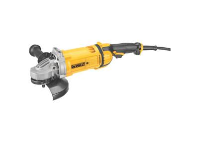 DEWALT 4.7 hp Large Angle Grinders, 7 in Dia, 15 A, 8,500 rpm, Lock-On; Trigger