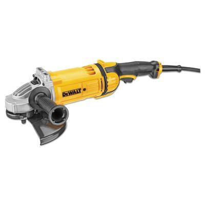 DEWALT 4.7 hp Large Angle Grinder, 9 in Dia, 15 A, 6,500 RPM, Trigger