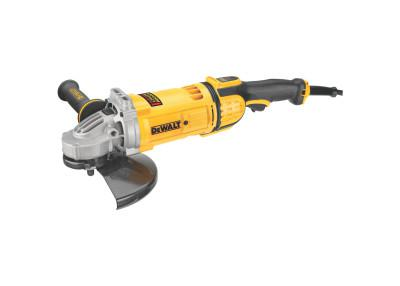 DEWALT 4.9HP Large Angle Grinders, 9 in Dia, 15 A, 6,500 rpm, Trigger; No-Lock