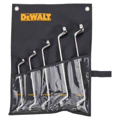 DEWALT 5 Piece Offset Box Wrench Sets, Inch