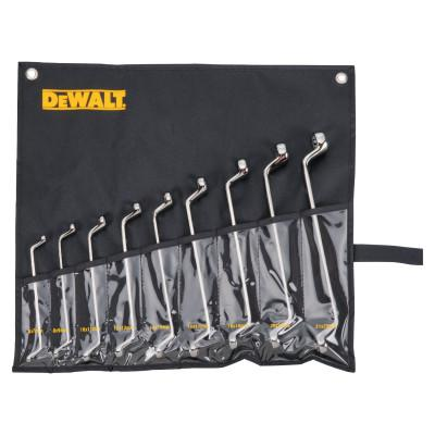 DEWALT 9 Piece Offset Box Metric Wrench Sets