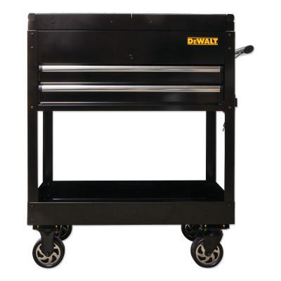 DEWALT Utility Cart With Sliding Top, Black