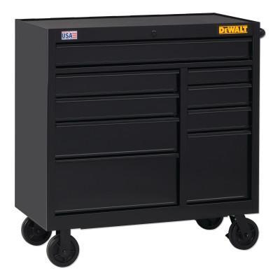 DEWALT 900 Series Rolling Tool Cabinet, 41 in Wide, 9-Drawer, Black