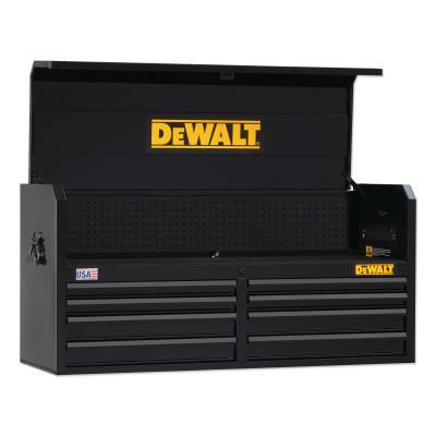 DEWALT 700 Series Top Tool Chest, 52 in Wide, 8-Drawer, Black