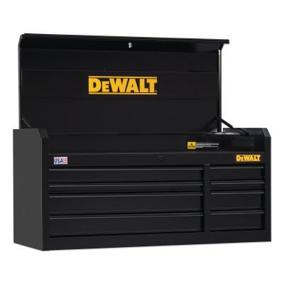 DEWALT 900 Series Top Tool Chest, 52 in Wide Tool Chest, 8-Drawer, Black