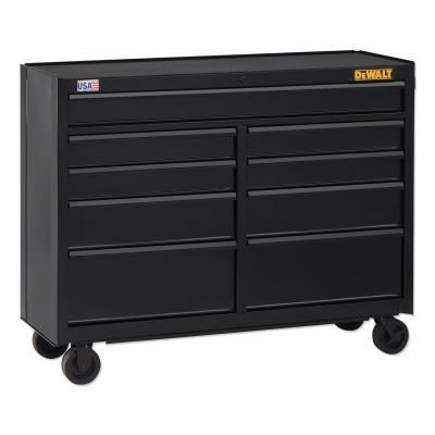 DEWALT 700 Series Rolling Tool Cabinet, 52 in Wide, 9-Drawer, Black