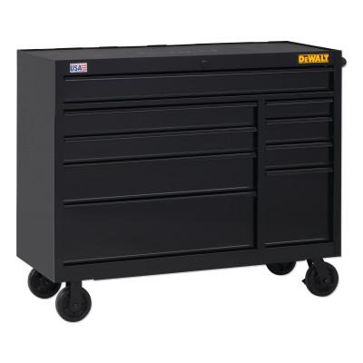 DEWALT 900 Series Rolling Tool Cabinet, 52 in Wide, 9-Drawer, Black